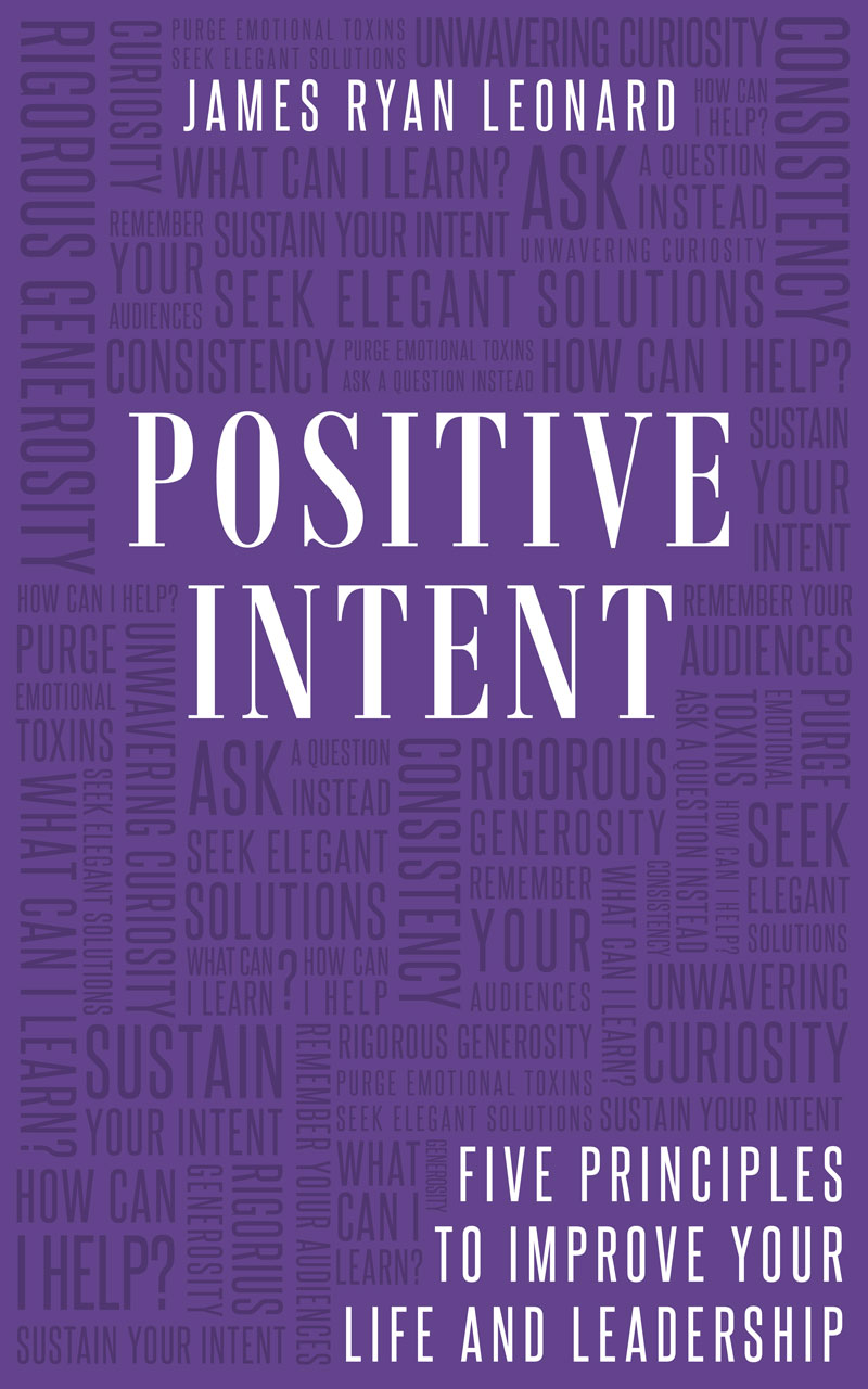 positive intent book cover